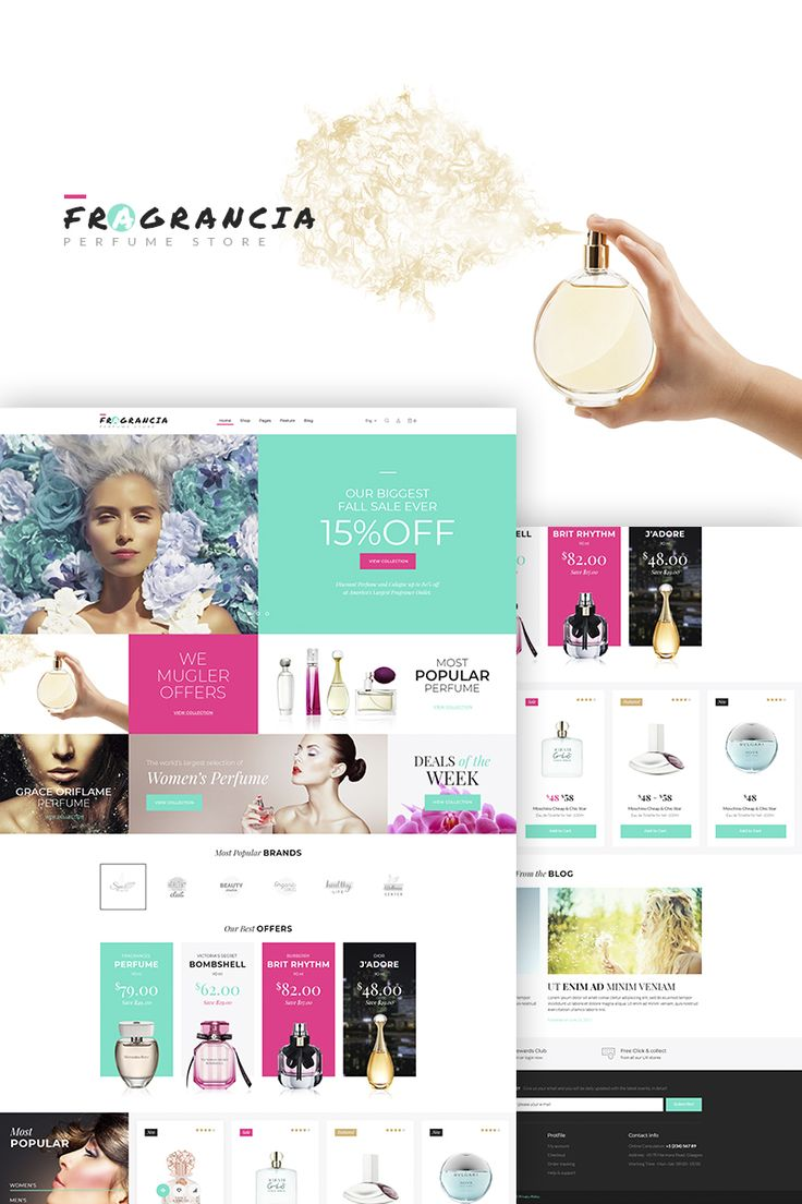 Fragrancia Perfume Store Theme is  WordPress theme that is adapted to creating full-featured websites.  #wordpress #templatedesign #fashion #parfumerie #webdesign  https://www.templatemonster.com/woocommerce-themes/fragrancia-perfume-store-woocommerce-theme-68157.html