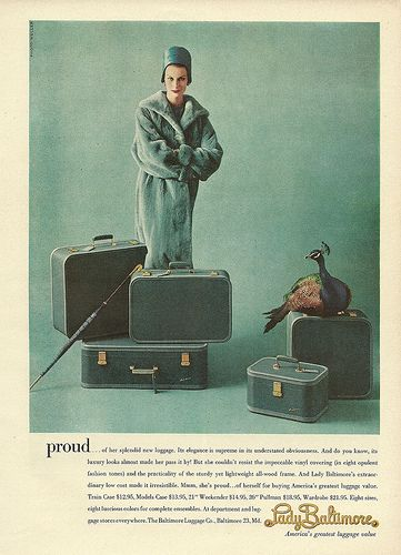 lady baltimore luggage: Travel Luggage, Suitca Heavens, Lady Baltimore, 1960S Style, Baltimore Luggage, Vintage Luggage, Vintage Ads, Photo, Luggage Tags