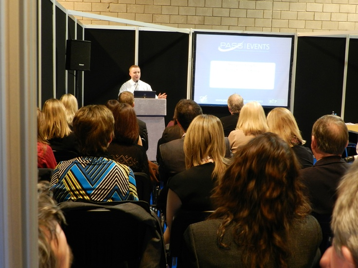 PASS Consultant Phil Adams addresses a packed Procurex Scotland Training Zone. For more information on PASS training visit http://www.passprocurement.com/events/