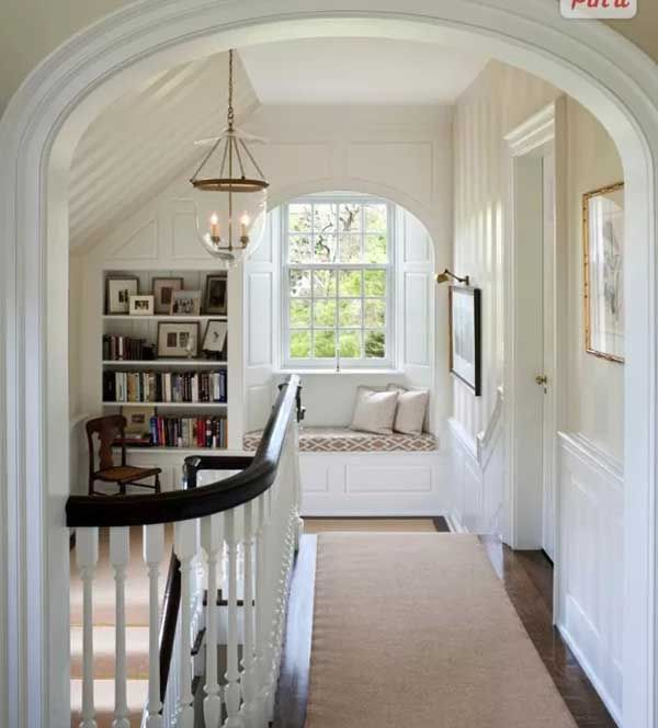 Inspiring window reading nook 16