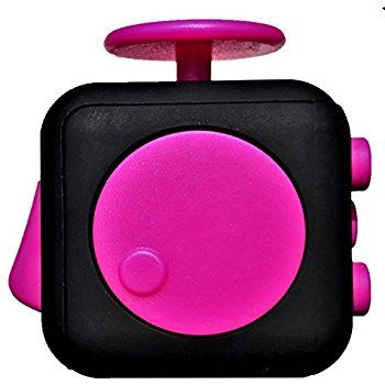 Amazon.com: PlayLearn Fidget Cube | Stress and Anxiety Relief Toy | ADHD, Autism, ADD | Promotes Calming Clarity and Focus | Quiet Gadget | Pocket Size: Toys & Games