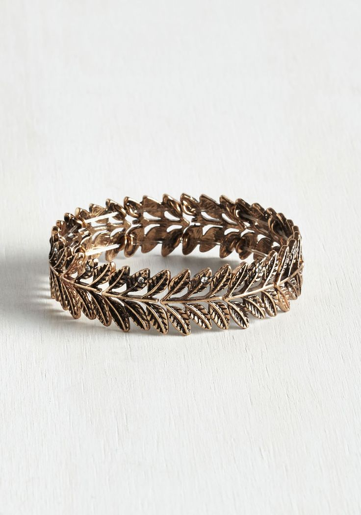 Well Within Your Leaf Bracelet | Mod Retro Vintage Bracelets | ModCloth.com