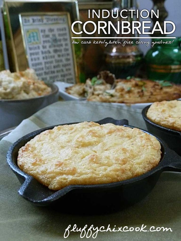 Best low carb induction keto cornbread recipe