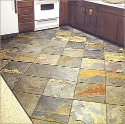 Slate Kitchen Floor Slate Stone Kitchen Flooring