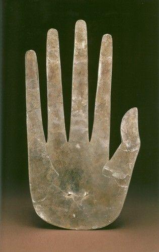 // Mica Hand, Hopewell, Ross County, Ohio, ca. 100 BCE - 500 CE