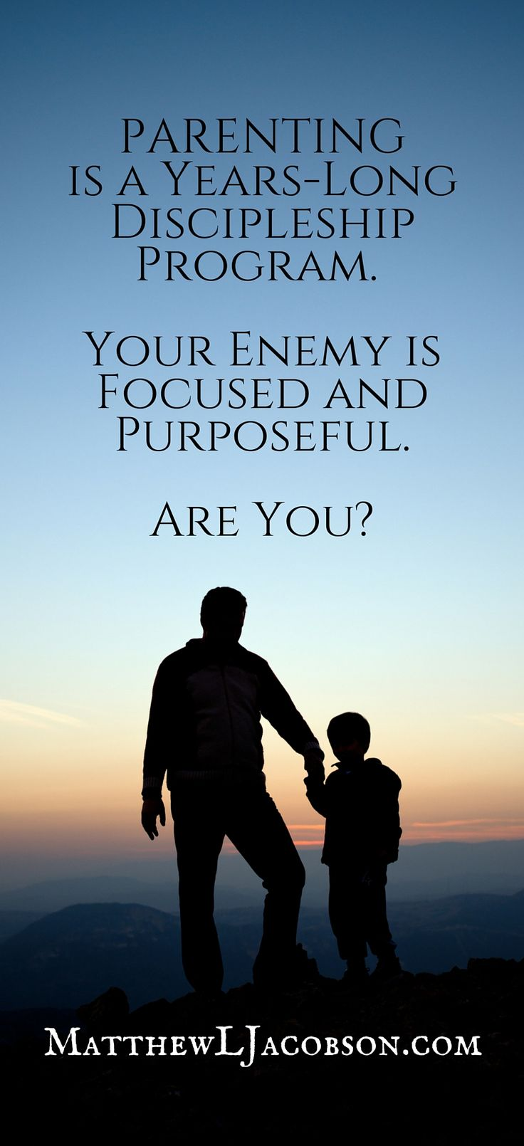 It's a busy life. How do parents train up their children in the way they should go? How do Christian parents lead their children to Jesus?