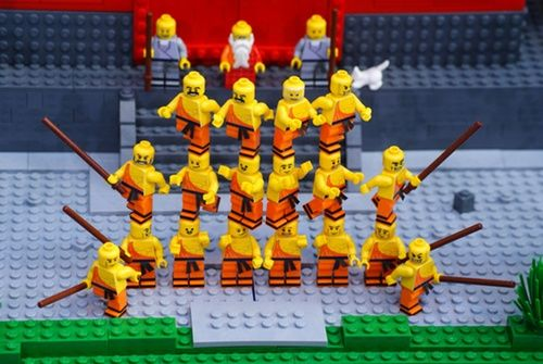 the mystery of Shaolin Temple.  http://www.eurobricks.com/forum/index.php?/forums/topic/57285-moc-shaolin-monastery/