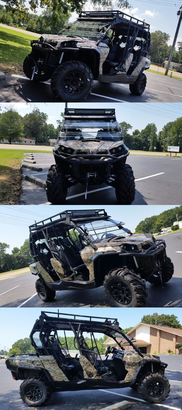 Power Sports ATVs UTVs: No Reserve Can Am Commander 1000 Xt Max Crew Sxs Utv 4X4 4 Seater Used Bike -> BUY IT NOW ONLY: $4550 on eBay!