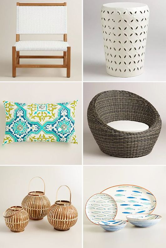 cost plus world market riviera collection + giveaway.