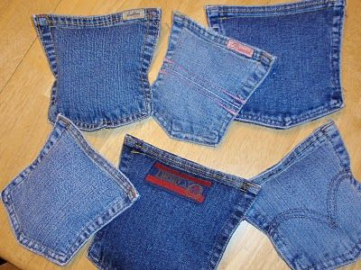 Jean Pocket Bean Bags - great for the corn hole game