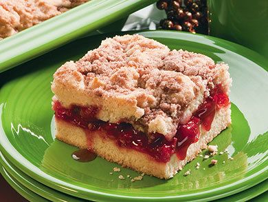 Very Cherry Coffee Cake | MrFood.com
