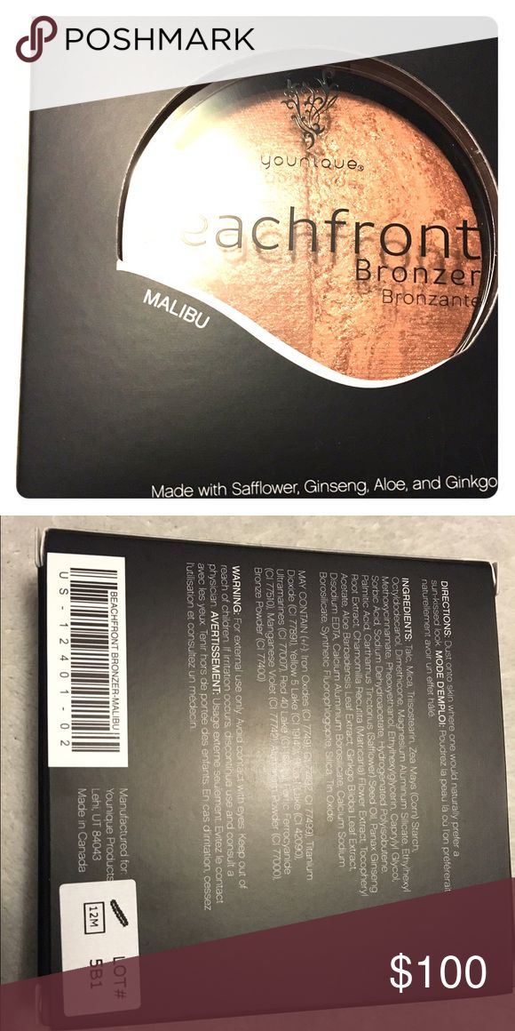 ✅Read Description ✅Bronzer in Malibu Shade ✅Make offer of $30 and it's yours✅ BNIB Younique bronzer in Malibu. Priced higher to allow a lower shipping rate for my customers!  Younique Makeup Bronzer