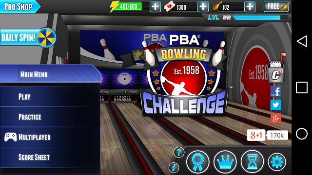 Ladies and Gents, Welcome to this week's edition of Mobile Monday Review: Pba Bowling Challenge! I had so much fun reviewing off the wall sports games so I becided to try pro bowling! So without further ado Monday Review: Pba Bowling Challenge!