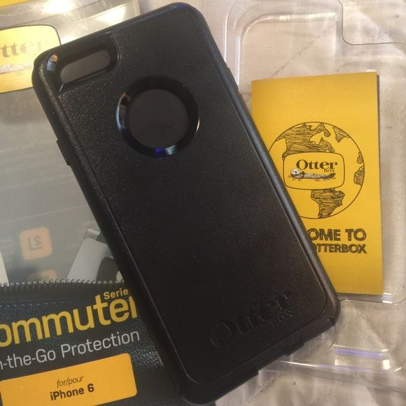 BRAND NIB OTTER BOX 6/6S IPHONE CASE New in the box never used before Otter Box Cummuter On-The-Go Protection series for iPhone 6/6S case. NO TRADES & ‼️FIRM‼️price. ‼️Also this item is excluded from any other sales I may be having‼️Thanks for looking & feel free to ask any questions besides can I lower the price OtterBox Accessories Phone Cases
