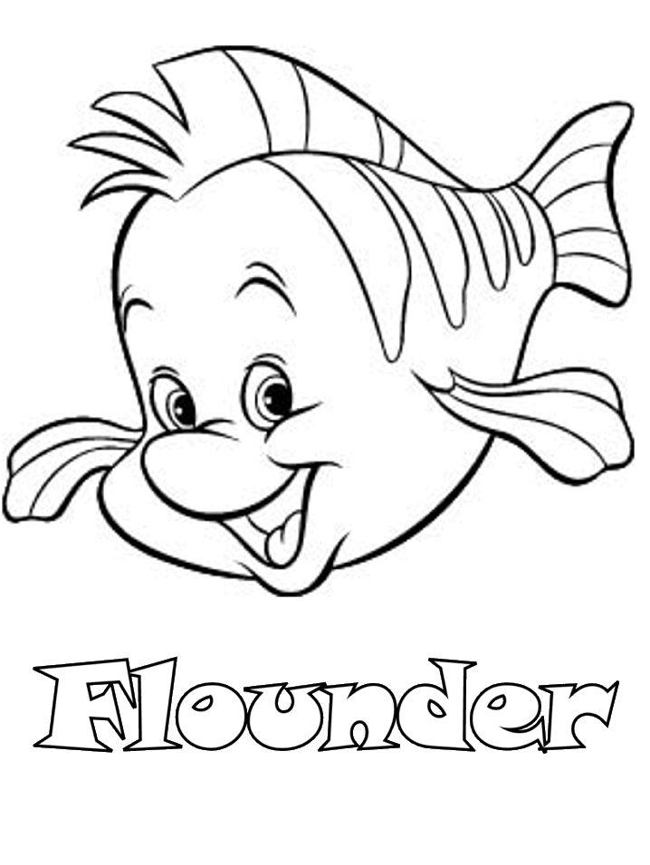 50 besten little mermaid coloring pages bilder auf