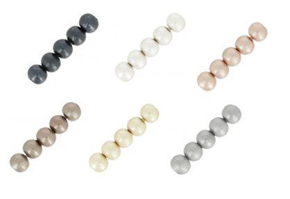 De nouvelles perles Miyuki Cotton Pearls sont disponibles ! 100% coton compressé + laque effet nacré sans plomb. Idéal pour réaliser des bijoux plus volumineux qui seront du coup plus légers ! A shopper à partir de 2.64€ >>> https://www.perlesandco.com/Cotton_Pearls_6_mm-c-55_369_2096_3458.html