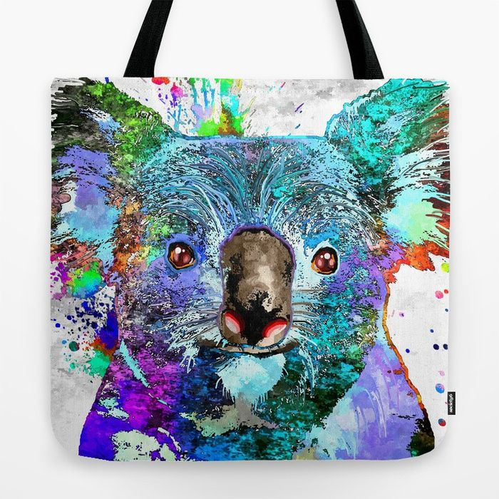 Buy Koala Tote Bag by danieljanda. Worldwide shipping available at Society6.com. Just one of millions of high quality products available.