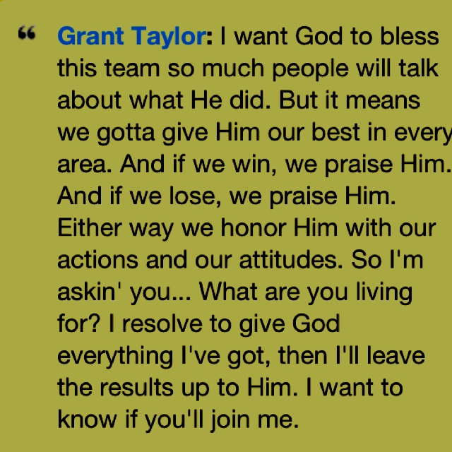 Facing the Giants.