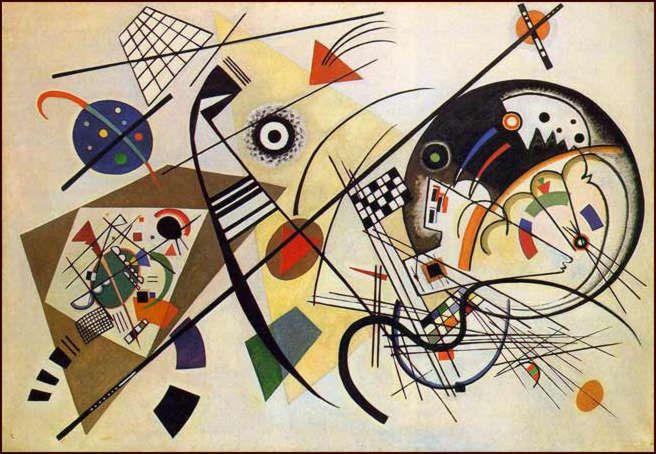 Kandinsky y Miró fueron tan amigos que llegó un momento en que el arte de ambos fue confundido; ¿cuáles son entonces sus diferencias?