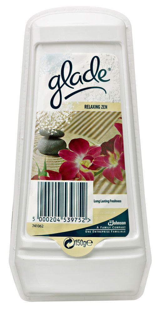 Glade 150 g Relaxing Zen hyytelöilmanraikastin citymarket.fi, 2,50€ - myös muut tuoksut ko. tuotteesta