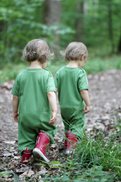 twins - how cute are they !