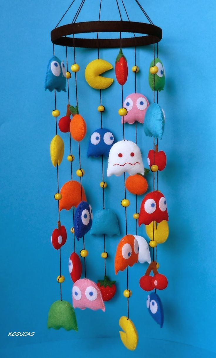 Pacman- this would be rad if we were having a boy or at least were making a more unisex themed nursery.