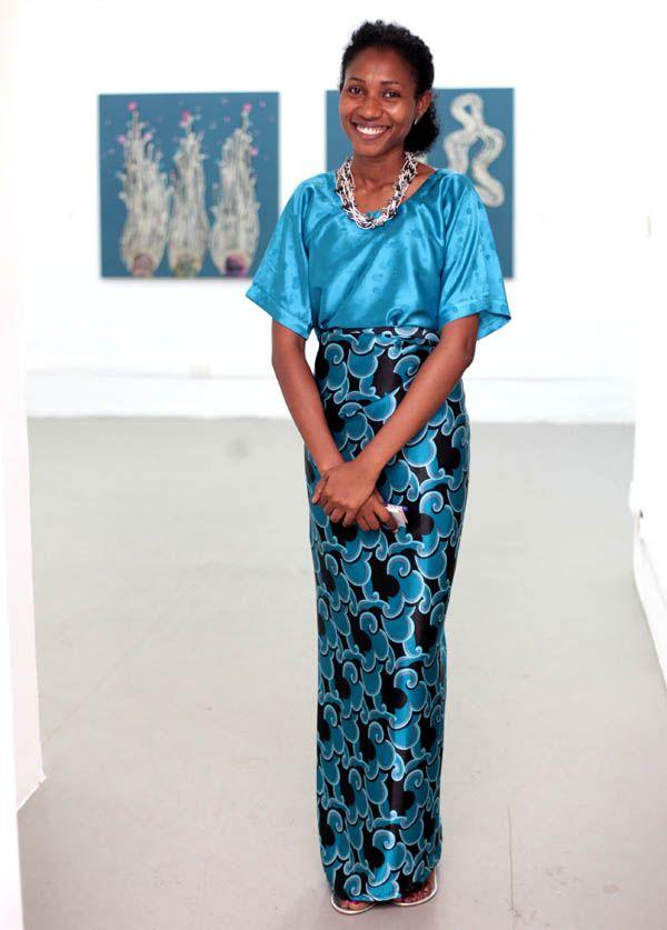The artist Taiye Idahor