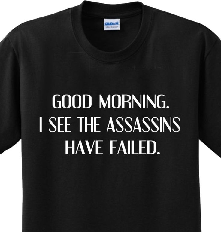 ✔ Assassins Failed Funny Sayings Witty Offensive Humorous Joke T Shirt Any Size | eBay