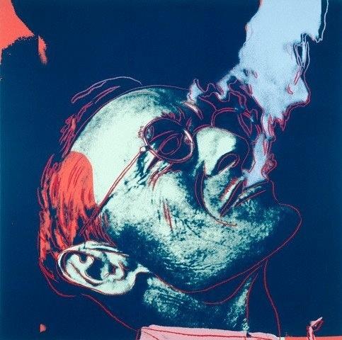 Herman Hesse by Andy Warhol