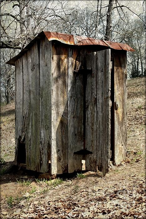 Outhouse print by gayle johnson for Outhouse pictures
