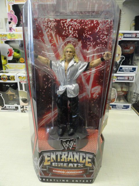 WWE Entrance Greats - CHRIS JERICHO - Mattel - Y2J Raw is Jericho - never opened - http://bestsellerlist.co.uk/wwe-entrance-greats-chris-jericho-mattel-y2j-raw-is-jericho-never-opened/