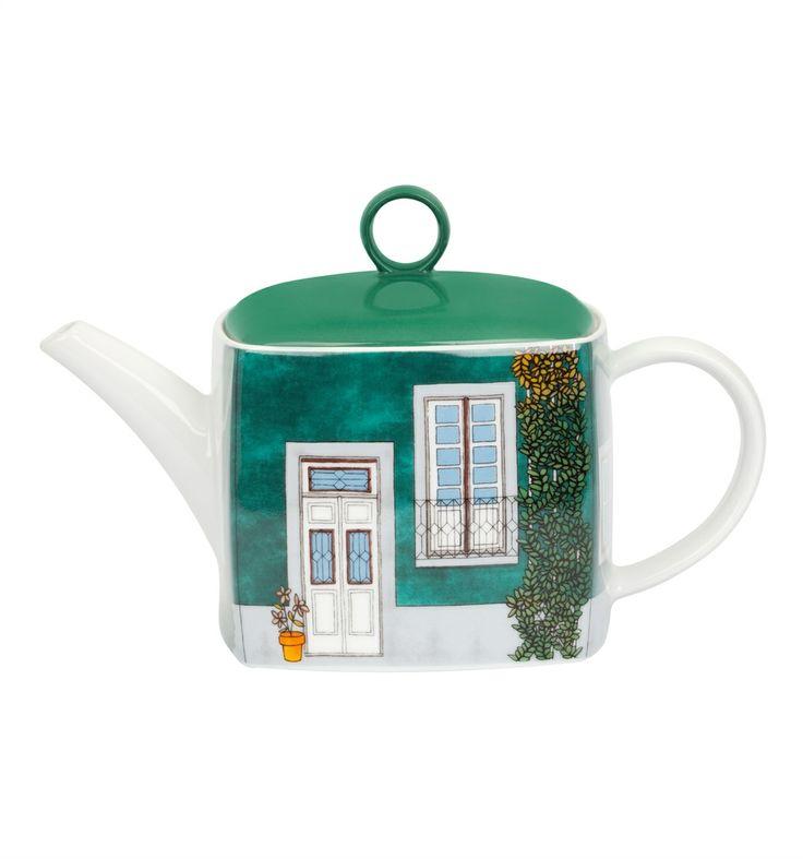 Portuguese teapot - Vista Alegre