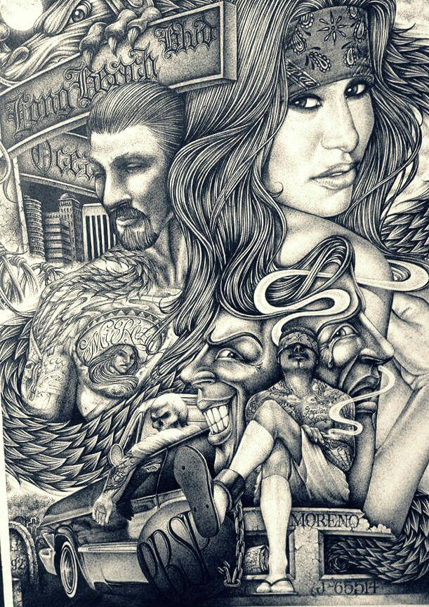 229 best chicano art images on pinterest chicano art - Chicano pride images ...