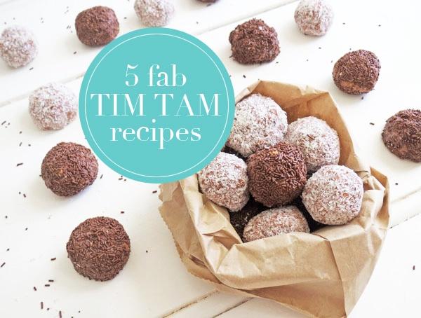 5 amazingly naughty Tim Tam #recipes