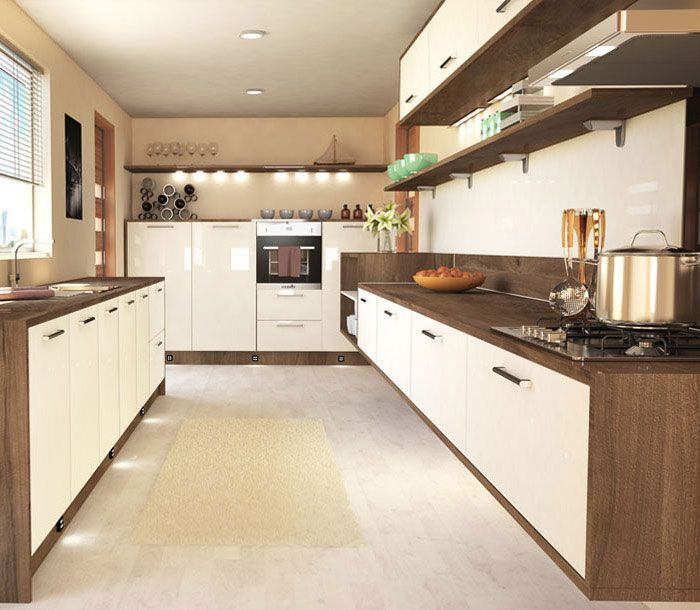60 best Woody Glossy Kitchens images on Pinterest Kitchen