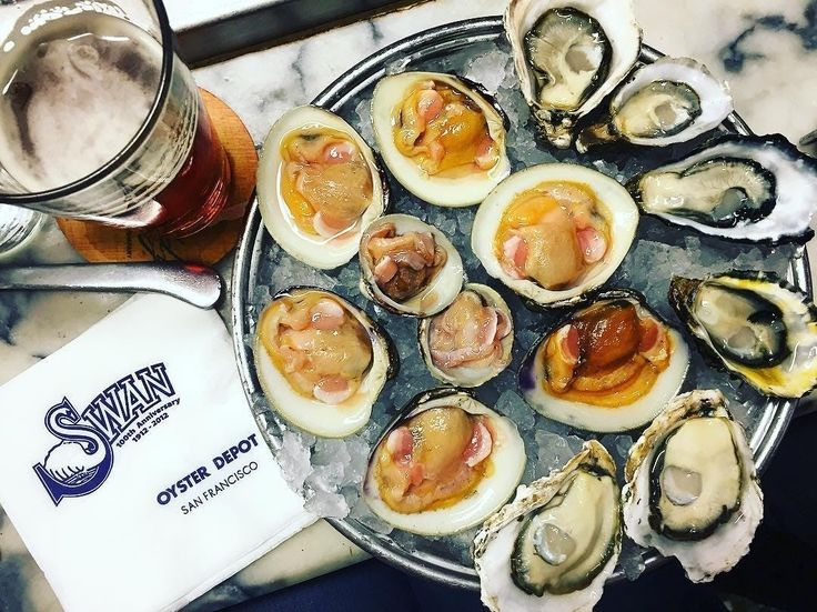 Seafood at Swan Oyster Depot. Discover the other legendary SF dishes to add to your culinary bucket list.