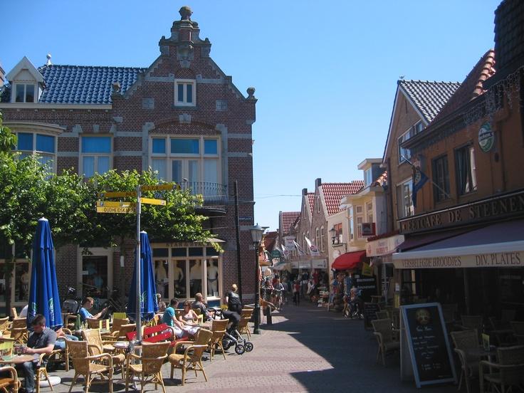 Den Burg - Texel# lekkere cappuccino drinken hmmm in het zonnetje.....