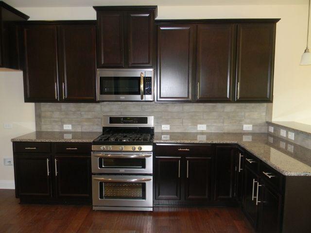 Wonderful Kitchen Backsplash Espresso Cabinets Timerlake Tahoe Maple Cabinetry Essex Homes Design Board 22 C In Decor