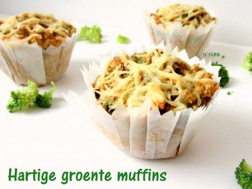 Hartige groente muffins, glutenvrij, suikervrij, gezond, recept, zelf maken, bakken, oven, tussendoortje, lunchbox, school, bijgerecht, bbq, picknick.