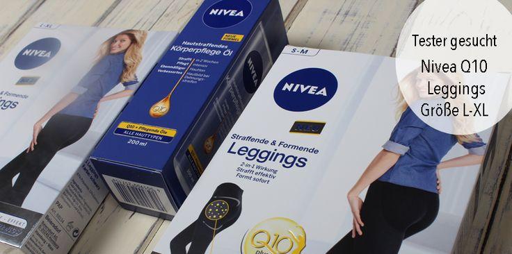 Letzte Woche habe ich die Nivea Q10 Straffende & Formende Leggings und das Nivea Q10 Hautstraffende Körperpflege Öl zugeschickt bekommen. Da mir die eine Leggings
