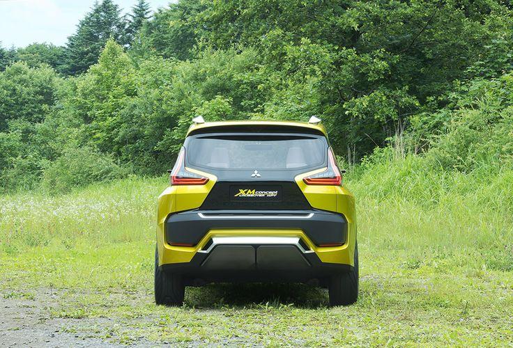 Exterior Mitsubishi XM Concept
