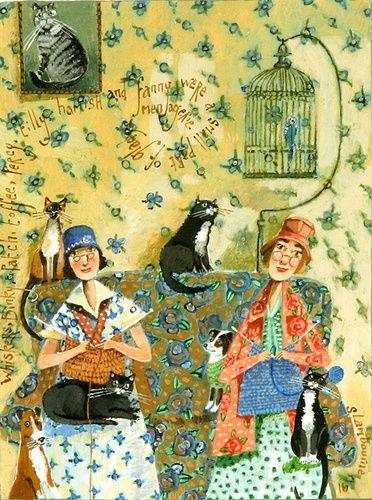 Gladys' Menagerie by Stephanie Lambourne