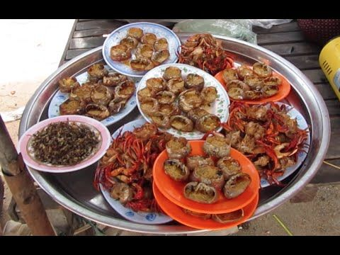 Foods in Cambodia at Tonle Bati Resort