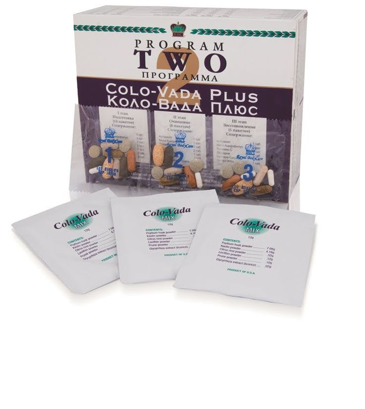 Colo-Vada Plus 2 Cleansing Program, highly used as 2nd step in your #4StepsToHealth