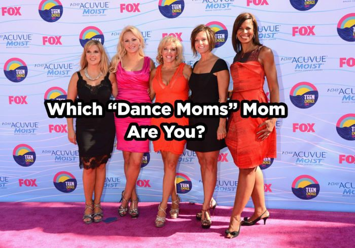 """Which """"Dance Moms"""" Mom Are You?"""