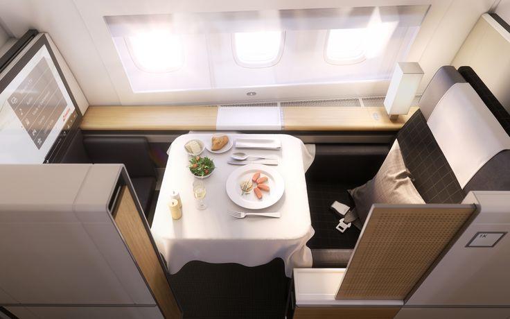 New Swiss First class os Boeing 777-300ER 2016