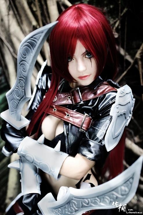 League of Legends - Katrina cosplay