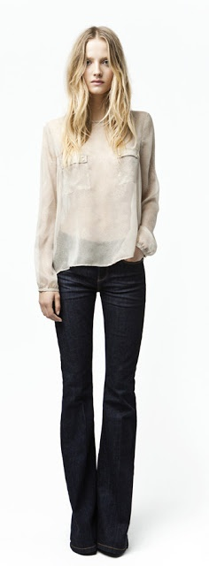 I want pretty: LOOK- Flare Jeans