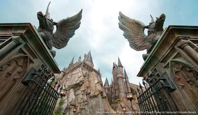 "ハリー・ポッター™のテーマパーク ""The Wizarding World of Harry Potter"""