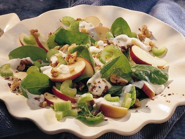 Blue Cheese Waldorf Salad | Recipe | Blue cheese, Worth it and Yogurt